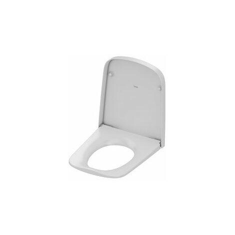 Asiento para WC TECEone con tapa, blanco - 9700600