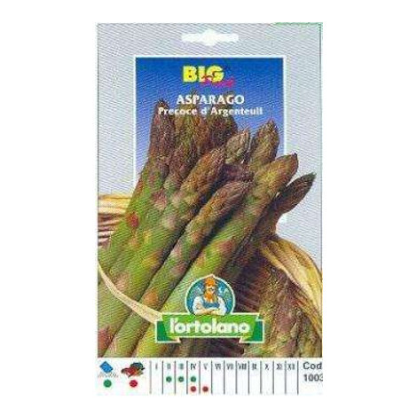 Asparago Argenteuil Big Pack - Busta Sementi