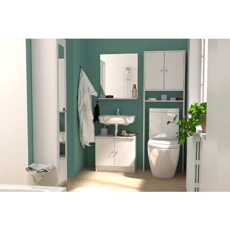 Aspen : 1 meuble, 1 miroir, 1 colonne 30, 1 entourage