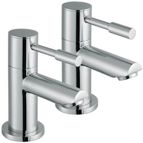 Aspen Chrome Bath Taps