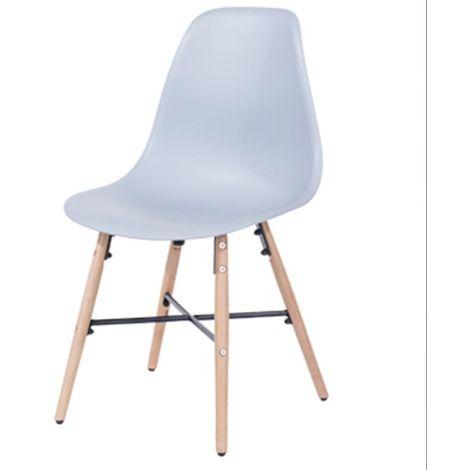 Aspen Plastic Pp Chair 6, Grey