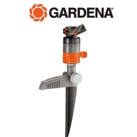 Aspersor con turbina sectorial Gardena