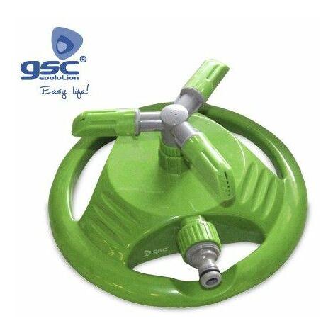 Aspersor de plástico giratorio 360º GSC 003602048