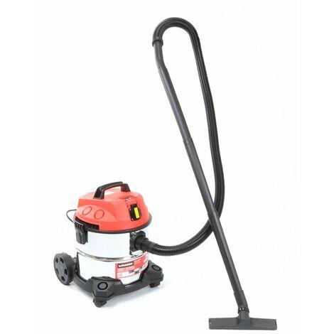 Aspirador 20L, 1200W - inox - MADER®