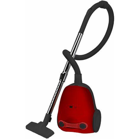 Aspirador c/bolsa reutil.1200w kuken red