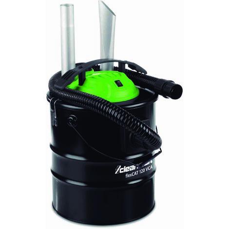 Aspirador con sistema doble filtro (chimeneas, hornos, parillas,..) CLEANCRAFT flexCAT120VCA