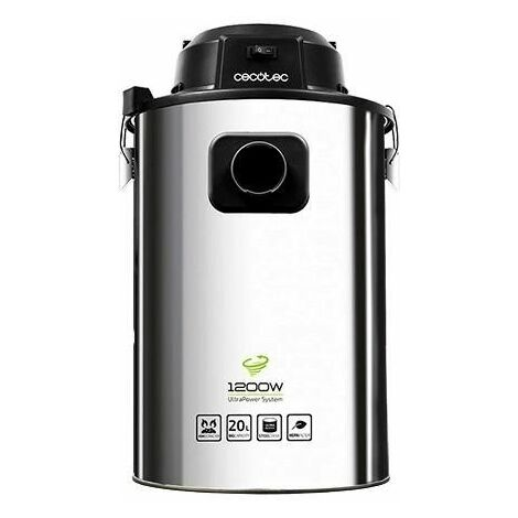 Aspirador de Cenizas Cecotec Conga PowerAsh 1200 20 L 1200W Inox