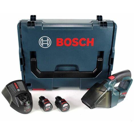 Aspirador de la batería de iones de litio Bosch GAS 12V (batería 2x 3.0Ah) en L-Boxx