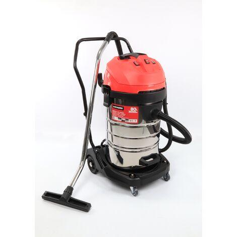 Aspirador INOX 3000W 80L - MADER® | Power Tools