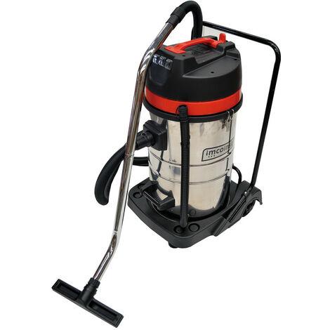 Aspirador Inox Agua Polvo 80L 3000 W - IMCOINSA - 2R631..