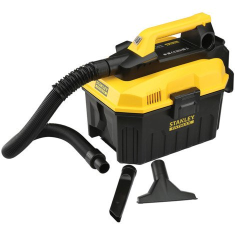 Aspirador Líquidos y Sólidos 18V – Sin Batería ni cargador. Stanley