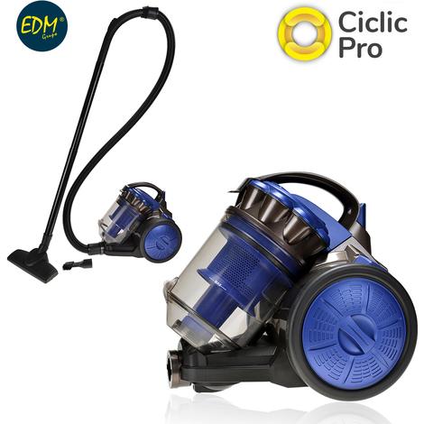 ASPIRADOR MULTI-CICLONICA CLASE A ENERGIA GRANDE EDM 700W 2,5 LITROS