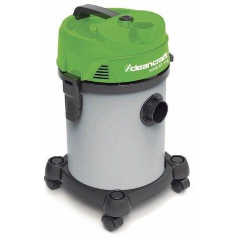 Aspirador para líquidos y partículas sólidas CLEANCRAFT wetCAT 118