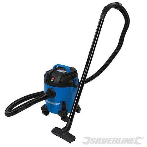 Aspirador para polvo y liquidos 1000 W, 10 litros - Silverline - Neoferr..