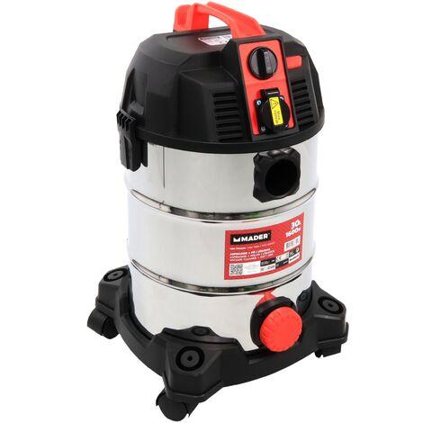 Aspirador Polvo/Liquidos 1600W 30L - MADER POWER®