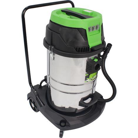 Aspirador Polvo/Liquidos, 80L, 3000W - SAURIUM®