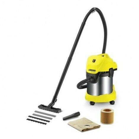 Aspirador Seco/Liquido 17L 1000W Inox Wd 3 Premium Krcher