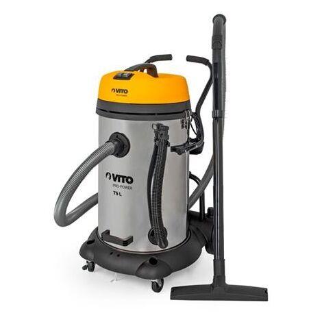 Aspirador Solidos Y Liquidos Vito Pro Power 2X1200W/75Lts