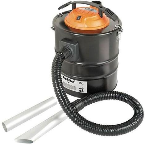 Aspirador soplador de cenizas 20 litros habitex - talla