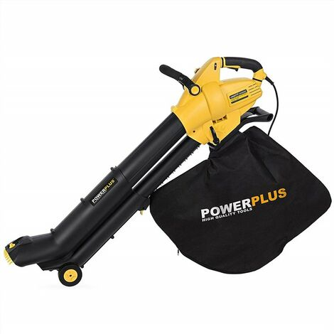 Powerplus POWXG4037 3000W 300kmh soplador de hoja - Soplador de hojas (Walk behind blower, Corriente alterna, 3000 W, 300 kmh, 45 L, 1550 RPM)