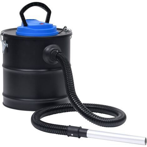 Aspiradora de cenizas con filtro HEPA 1200 W 20 L acero