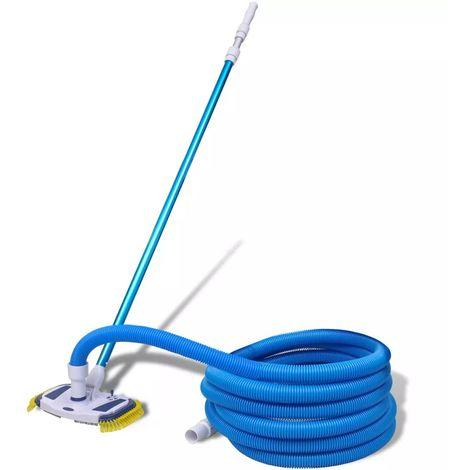 Aspiradora de limpieza de piscinas palo telescopico y manguera