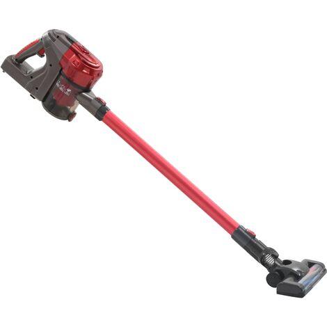 Aspiradora de mano sin cable multiciclónica 2 en 1 rojo 120 W