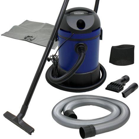 Aspiradora industrial 30L limpiador estanque seco húmedo con accesorios 1400 W