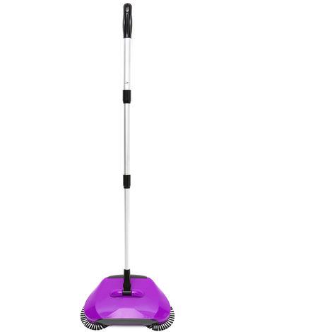 Aspiradora no eléctrica Mantenimiento del hogar Limpiador de la casa TU Púrpura Sasicare
