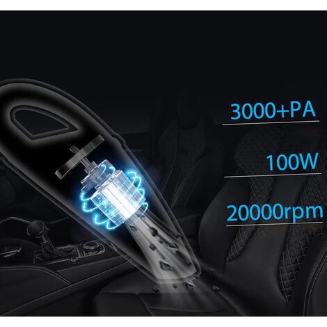 Aspiradora polvo del coche de Buster portatil aspiradora inalambrica rapida de carga portatil para la limpieza en seco humedo la cocina del hogar del coche