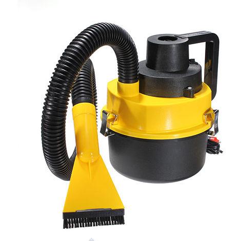 Aspiradora portátil Aspirador de polvo húmedo Bomba de inflado de aire de vacío Coche LAVENTE