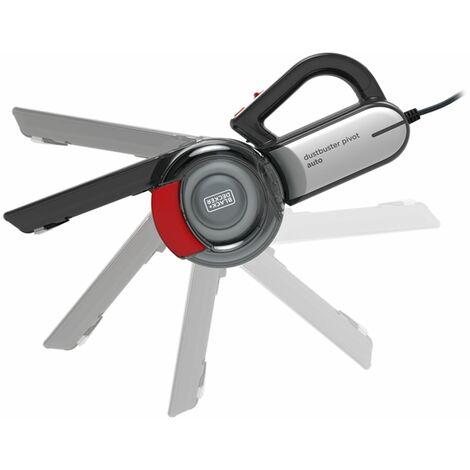 Aspirapolvere a Mano Ciclonico Black & Decker PV1200AV 12,5 W 0,44 L Nero Rosso