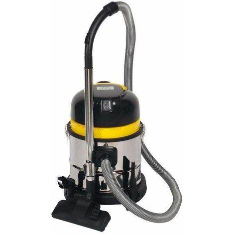 Aspirateur 15 litres cuve inox eau et poussière 1200W