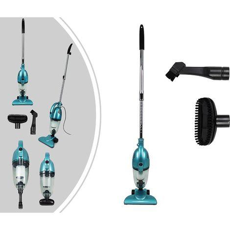 Aspirateur 2 en 1 Balai et à Main, Balai Éléctrique, Bleu, Capacité du bac à poussière: 1,3L