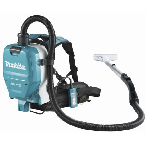 Aspirateur 36 V = > 2 x 18 V Li-Ion 110 mbar MAKITA - Sans batterie, ni chargeur - DVC261ZX14