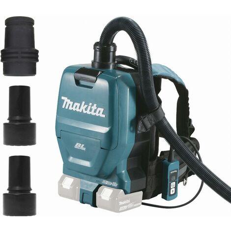 Aspirateur 36 V = > 2 x 18 V Li-Ion 62 mbar MAKITA - Sans batterie, ni chargeur - DVC260ZX