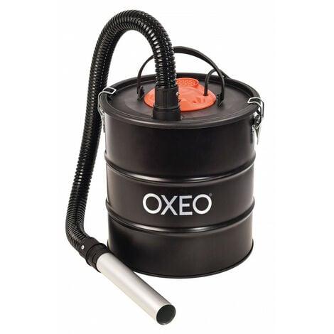 Aspirateur a cendre 1200W pour résidus jusqu'à 60°C