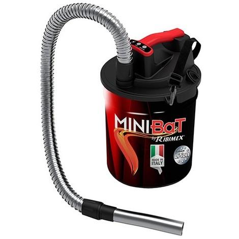 Aspirateur à cendres 10L à batterie Lithium 18V 2,5 Ah MINIBAT - PRCEN011BAT - Ribitech - -