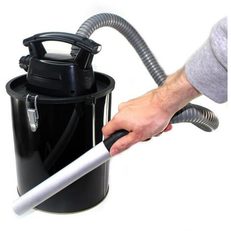 Aspirateur à Cendres 11L Sans Fil - Batterie Rechargeable - Pour Chemisée ou Barbecue