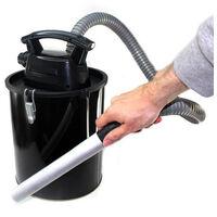 Aspirateur à Cendres 11l Sans Fil Batterie Rechargeable Pour Chemisée Ou Barbecue
