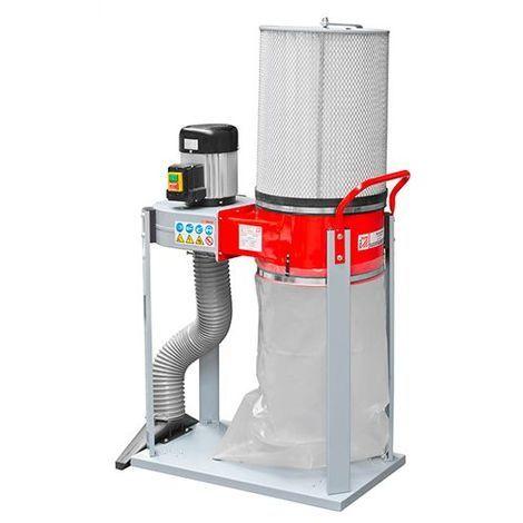 Aspirateur à copeaux de bois 1 sac 60 litres 750 W 230 V - ABS1500FF-230V - Holzmann - -