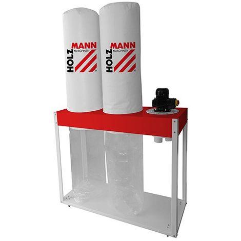Aspirateur à copeaux de bois 2 x 180 litres 400 V 2200 W - ABS5000SE - Holzmann - -