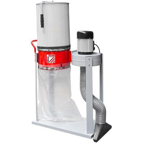 Aspirateur à copeaux Holzmann ABS1500FF avec cartouche filtrante !   Monophasé 230V