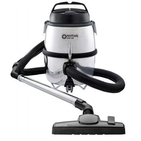 aspirateur à cuve avec ou sans sac 79db noir/argent - 107418491 - nilfisk