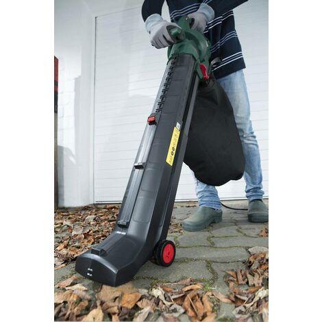 Aspirateur à feuilles électrique 4 en 1, 3000 watts + sac collecteur supplémentaireGartenMeister