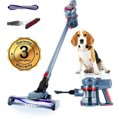 Aspirateur Balai 2en1 EZIclean® Cyclomax air animal