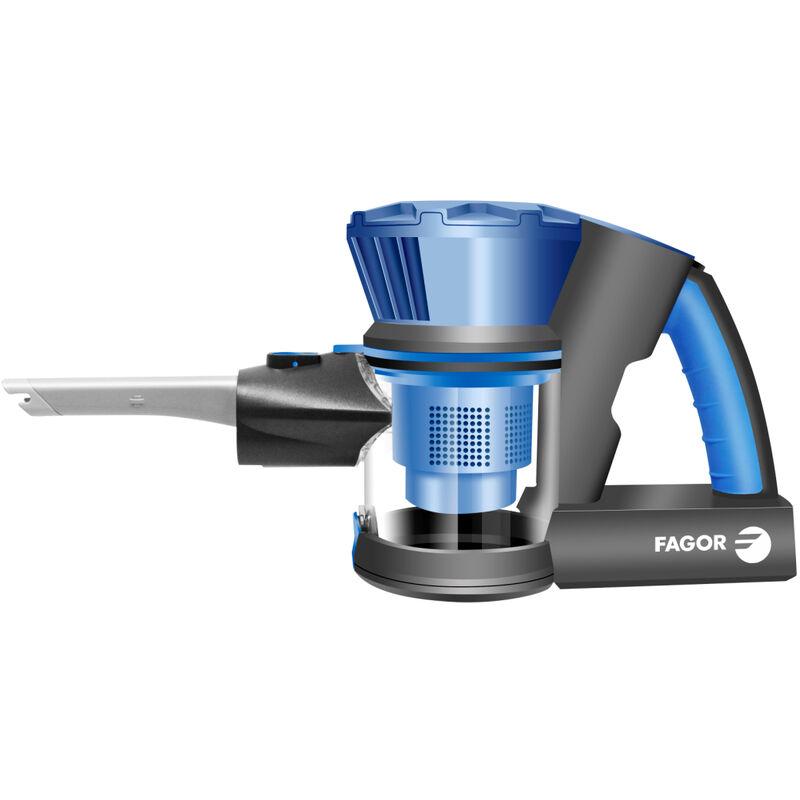 aspirateur balai 2en1 rechargeable 22.2v bleu fg748 fagor