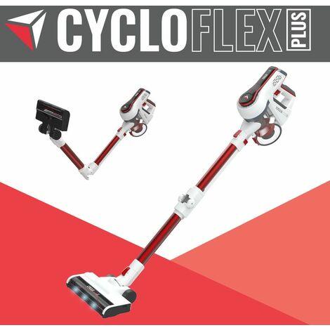 """main image of """"Aspirateur-balai CycloFlex Plus, sans fil, manche flexible, aspiration en continu, 3 LEDs sur la tête"""""""