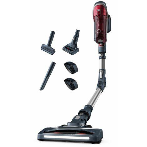 "main image of ""aspirateur balai rechargeable 22v rouge et gris - rh9677wo - rowenta"""