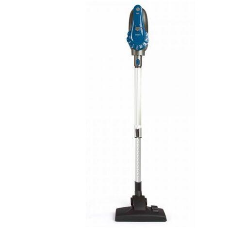 aspirateur balai rechargeable 2en1 22.2v bleu/gris - doh121b - livoo